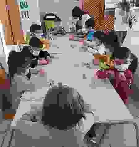 Kastamonu'da bilim festivaline katılan çocuklar eğlenerek öğrendi