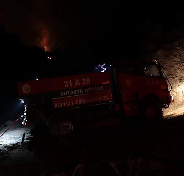GÜNCELLEME 2 - Hatay'da çıkan orman yangını karadan müdahaleyle kontrol altına alındı