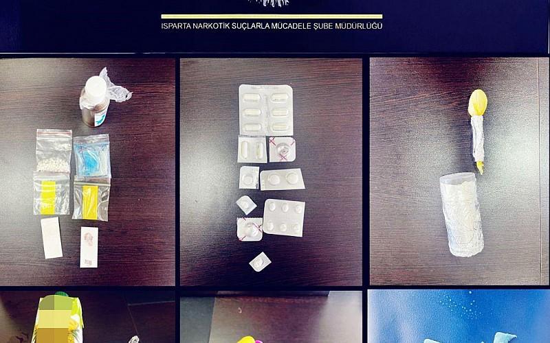 Isparta'da uyuşturucu satıcılarına yönelik operasyonda 4 kişi tutuklandı