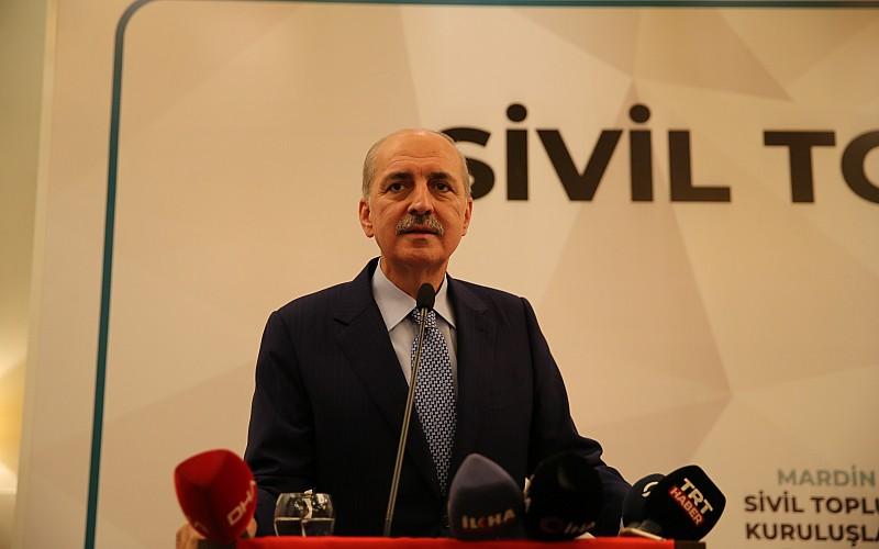 AK Partili Kurtulmuş, Mardin'de STK temsilcileriyle bir araya geldi: