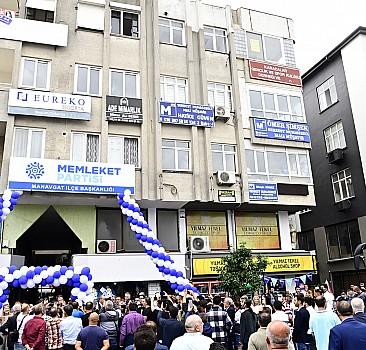 Memleket Partisi Genel Başkanı İnce, Antalya'da ziyaretlerde bulundu