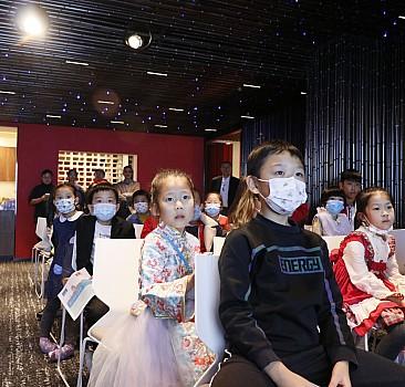 Pekin Yunus Emre Enstitüsü, küçük Çinli öğrencileri ağırladı