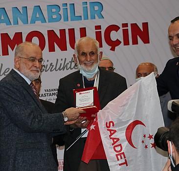 Saadet Partisi Genel Başkanı Karamollaoğlu Kastamonu'da konuştu: