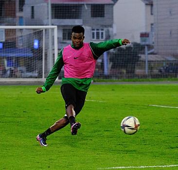 Giresunspor, Gaziantep FK maçının hazırlıklarına devam etti
