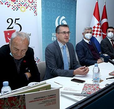 """Zagreb'de """"Hırvatistan ile Türkiye"""" başlıklı monografinin tanıtımı yapıldı"""