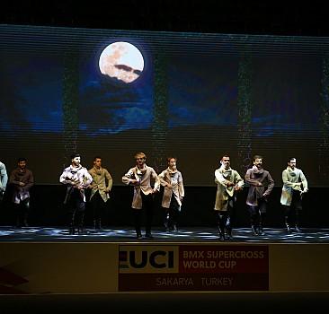 Sakarya'da düzenlenecek BMX Dünya Şampiyonası için açılış seremonisi düzenlendi