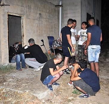 Suriyeli sığınmacıları bekçi kurtardı