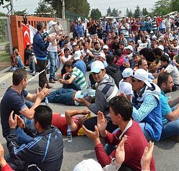 Bursa'da işçilere savcılıktan tebligat