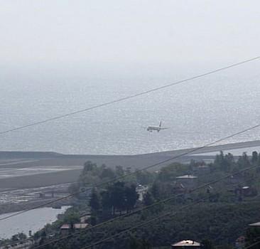 Ordu-Giresun Havalimanı'na ilk uçak indi