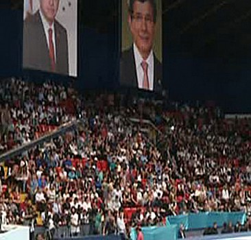 Davutoğlu 280 spor tesisinin açılışında konuşuyor