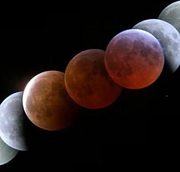 Bu gece 'kanlı ay tutulması yaşanacak