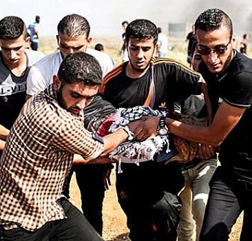 İşgalcilerin Filistin saldırısında onlarca yaralı var