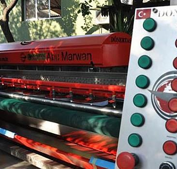 Mekke'deki halıların yıkama makinesi İzmir'den