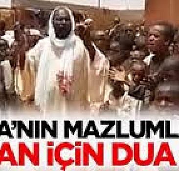 Afrika'dan Recep Tayyip Erdoğan ve Türkiye İçin Dua