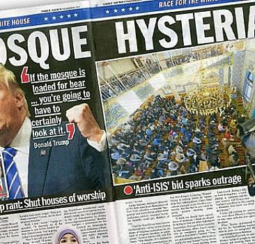 Türk camisini DAEŞ'le ilişkilendiren gazeteye tepki