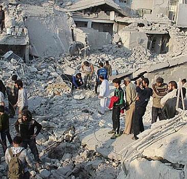 Halep'te sivillere saldırı: 45 ölü