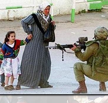 İsrailli caniler Filistinli bebeğe kıydı