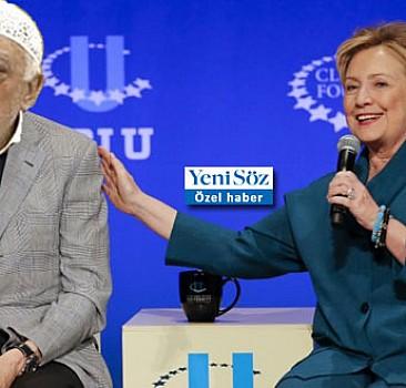 FETÖ himmet paralarını Clinton'a kaptırdı