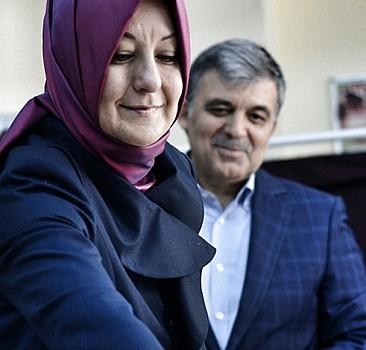 11. Cumhurbaşkanı Abdullah Gül ve eşi oyunu kullandı