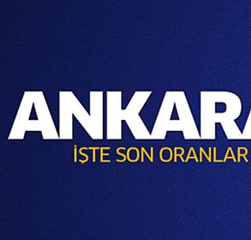 7 Haziran 2015 Ankara seçim sonuçları