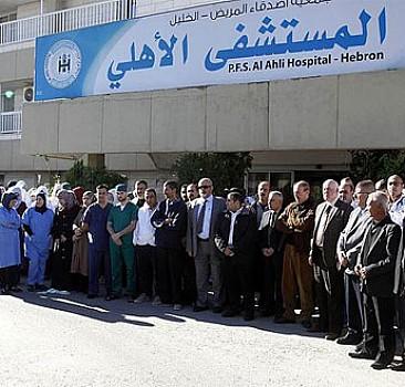 Hastanede İsrail terörü