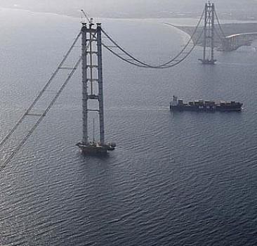 İzmit köprüsü Nisan'da açılıyor