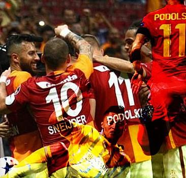 Galatasaray - Astana maçında neler yaşandı?