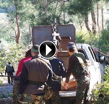Esed'in askeri Türkmen ordusuna konuştu