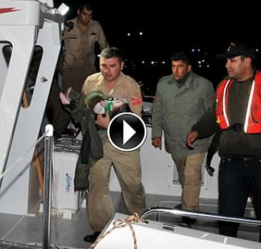 Ege Denizi'nde göçmenleri taşıyan tekne battı