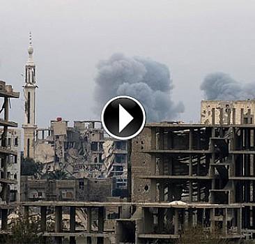 Rus jetleri Şam'da sivilleri vurdu