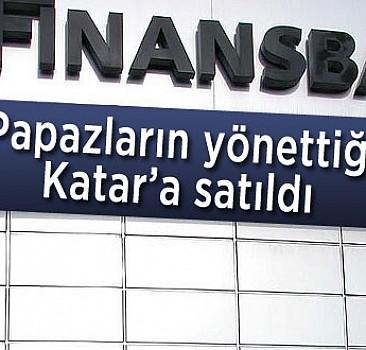 Finansbank Katar'a satıldı