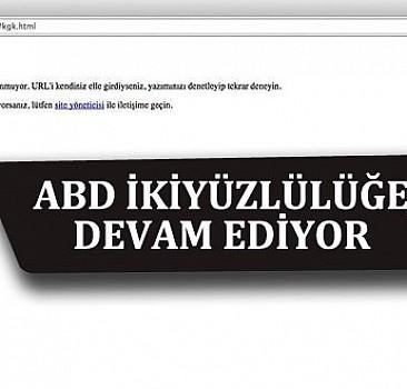 ABD PYD'yi deşifre eden sayfaları kapattı