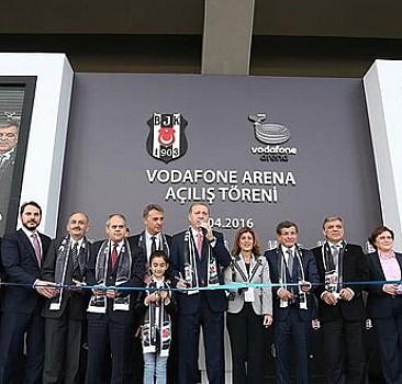 Vodafone Arena'nın açılışı gerçekleştirildi