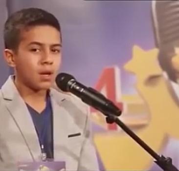 Suriyeli çocuğun Kur'aan tilaveti