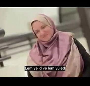 Sağır ve dilsiz kadın 9 kişiyi Müslüman yaptı