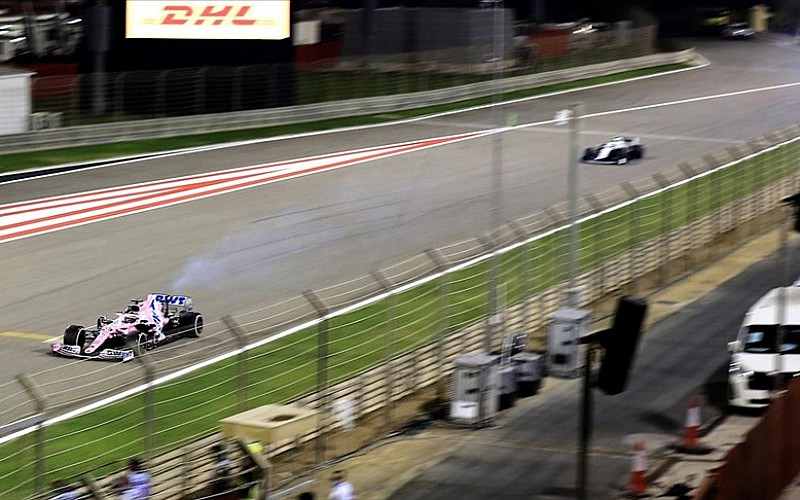 Formula 1'de olaylı Bahreyn Grand Prix'sini Hamilton kazandı