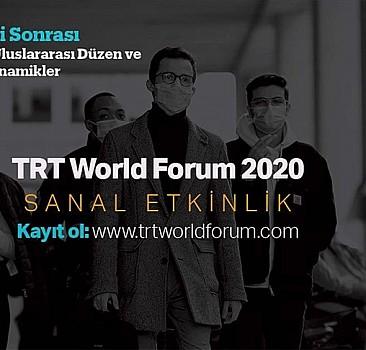 TRT World Forum 2020 yüksek teknolojiyle dünyayı bir araya getirecek