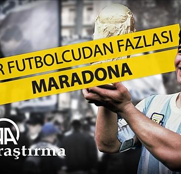 Bir futbolcudan fazlası: Maradona